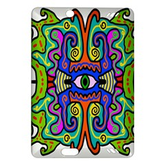 Abstract Shape Doodle Thing Amazon Kindle Fire Hd (2013) Hardshell Case