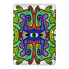 Abstract Shape Doodle Thing Kindle Fire HDX 8.9  Hardshell Case