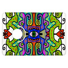 Abstract Shape Doodle Thing Kindle Fire Hdx Flip 360 Case