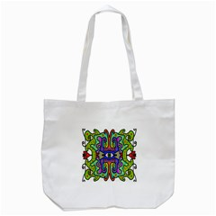 Abstract Shape Doodle Thing Tote Bag (white)