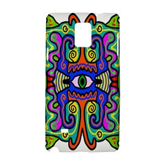 Abstract Shape Doodle Thing Samsung Galaxy Note 4 Hardshell Case