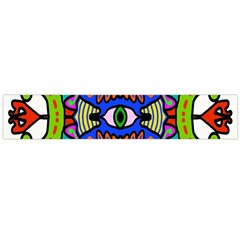 Abstract Shape Doodle Thing Flano Scarf (Large)