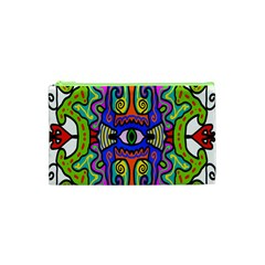 Abstract Shape Doodle Thing Cosmetic Bag (xs)