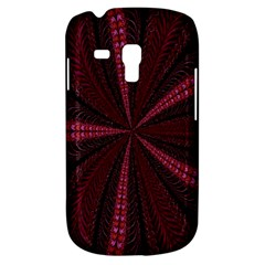 Red Ribbon Effect Newtonian Fractal Galaxy S3 Mini