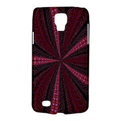 Red Ribbon Effect Newtonian Fractal Galaxy S4 Active