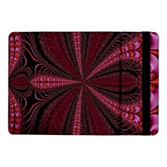 Red Ribbon Effect Newtonian Fractal Samsung Galaxy Tab Pro 10.1  Flip Case