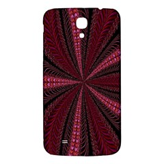 Red Ribbon Effect Newtonian Fractal Samsung Galaxy Mega I9200 Hardshell Back Case