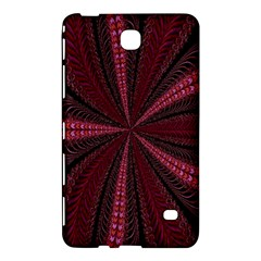 Red Ribbon Effect Newtonian Fractal Samsung Galaxy Tab 4 (8 ) Hardshell Case