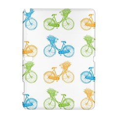 Vintage Bikes With Basket Of Flowers Colorful Wallpaper Background Illustration Galaxy Note 1