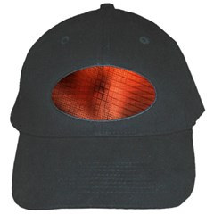 Background Technical Design With Orange Colors And Details Black Cap