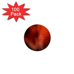 Background Technical Design With Orange Colors And Details 1  Mini Buttons (100 Pack)