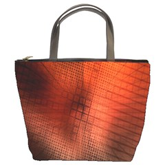 Background Technical Design With Orange Colors And Details Bucket Bags