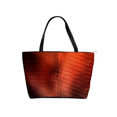 Background Technical Design With Orange Colors And Details Shoulder Handbags