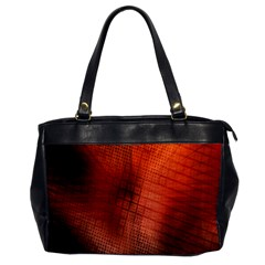 Background Technical Design With Orange Colors And Details Office Handbags