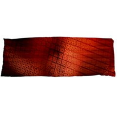 Background Technical Design With Orange Colors And Details Body Pillow Case (Dakimakura)
