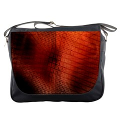 Background Technical Design With Orange Colors And Details Messenger Bags