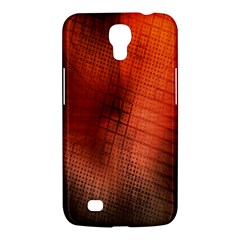 Background Technical Design With Orange Colors And Details Samsung Galaxy Mega 6.3  I9200 Hardshell Case