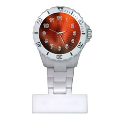 Background Technical Design With Orange Colors And Details Plastic Nurses Watch