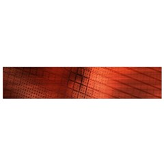 Background Technical Design With Orange Colors And Details Flano Scarf (small)
