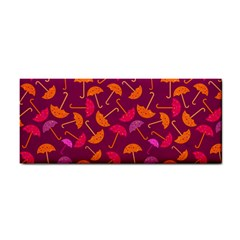 Umbrella Seamless Pattern Pink Lila Cosmetic Storage Cases