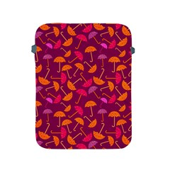Umbrella Seamless Pattern Pink Lila Apple iPad 2/3/4 Protective Soft Cases