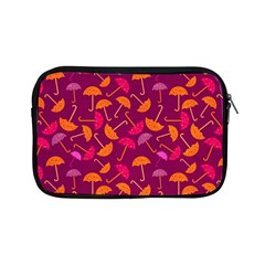 Umbrella Seamless Pattern Pink Lila Apple iPad Mini Zipper Cases