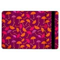 Umbrella Seamless Pattern Pink Lila iPad Air Flip