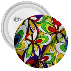 Colorful Textile Background 3  Buttons