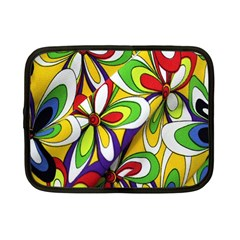Colorful Textile Background Netbook Case (small)