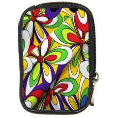Colorful Textile Background Compact Camera Cases