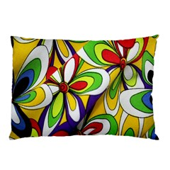 Colorful Textile Background Pillow Case (Two Sides)