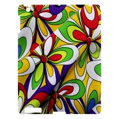 Colorful Textile Background Apple iPad 3/4 Hardshell Case