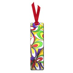 Colorful Textile Background Small Book Marks