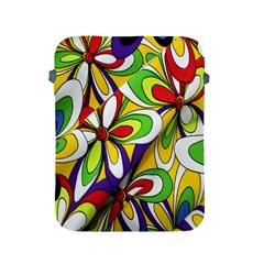 Colorful Textile Background Apple iPad 2/3/4 Protective Soft Cases