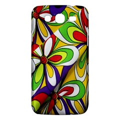 Colorful Textile Background Samsung Galaxy Mega 5.8 I9152 Hardshell Case
