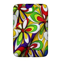 Colorful Textile Background Samsung Galaxy Note 8 0 N5100 Hardshell Case