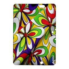 Colorful Textile Background Kindle Fire HDX 8.9  Hardshell Case