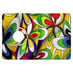 Colorful Textile Background Kindle Fire HDX Flip 360 Case