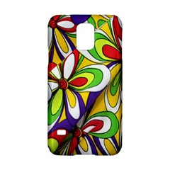 Colorful Textile Background Samsung Galaxy S5 Hardshell Case