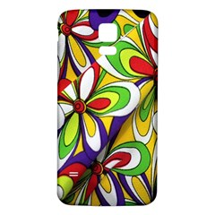 Colorful Textile Background Samsung Galaxy S5 Back Case (white)