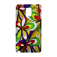 Colorful Textile Background Samsung Galaxy Note 4 Hardshell Case