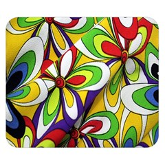 Colorful Textile Background Double Sided Flano Blanket (Small)