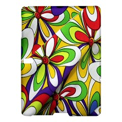 Colorful Textile Background Samsung Galaxy Tab S (10 5 ) Hardshell Case
