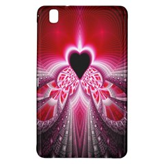 Illuminated Red Hear Red Heart Background With Light Effects Samsung Galaxy Tab Pro 8.4 Hardshell Case