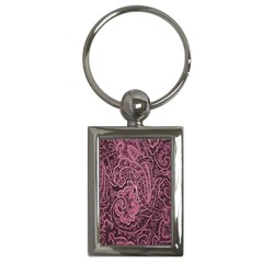 Abstract Purple Background Natural Motive Key Chains (rectangle)