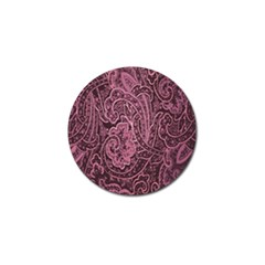 Abstract Purple Background Natural Motive Golf Ball Marker (10 Pack)