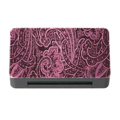 Abstract Purple Background Natural Motive Memory Card Reader with CF