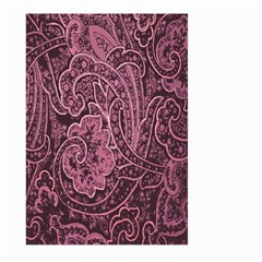 Abstract Purple Background Natural Motive Large Garden Flag (Two Sides)
