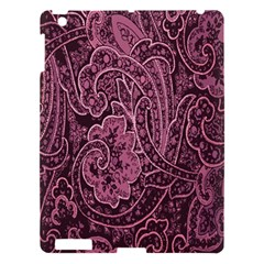 Abstract Purple Background Natural Motive Apple Ipad 3/4 Hardshell Case