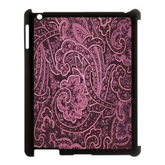 Abstract Purple Background Natural Motive Apple iPad 3/4 Case (Black)